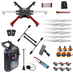 Full Set RC Drone MultiCopter 6 Aircraft Kit F550 Hexa-Rotor Air Frame GPS APM2.8 Flight Control Flysky FS-i6 F05114-AW