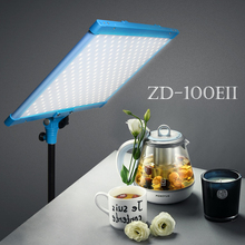 Yidoblo Süper ince LED panel ışık Kısılabilir Biyo renkli Yumuşak Işık LED Lamba Fotoğrafçılık Röportaj RC LCD ekran LED ışık