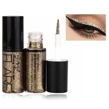 5 Colors Liquid Glitter Eyeliner Makeup Eye Liner Waterproof Cosmetics Pigment Silver Rose Gold Shiny Eyeliner подводка для глаз mac liquidlast liner подводка для глаз naked bond