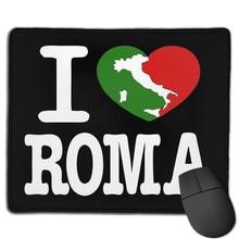 Maglia maglietta uomo eu amo roma italia bandiera italiana tlove0113 tapete de rato original