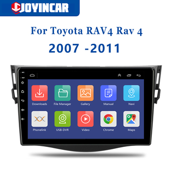 JOYINCAR 9 Android 9.1 For for Toyota RAV4 Rav 4 2007-2011 Car Radio Multimedia Video Player 2 din Autoradio GPS Navigation WiF image