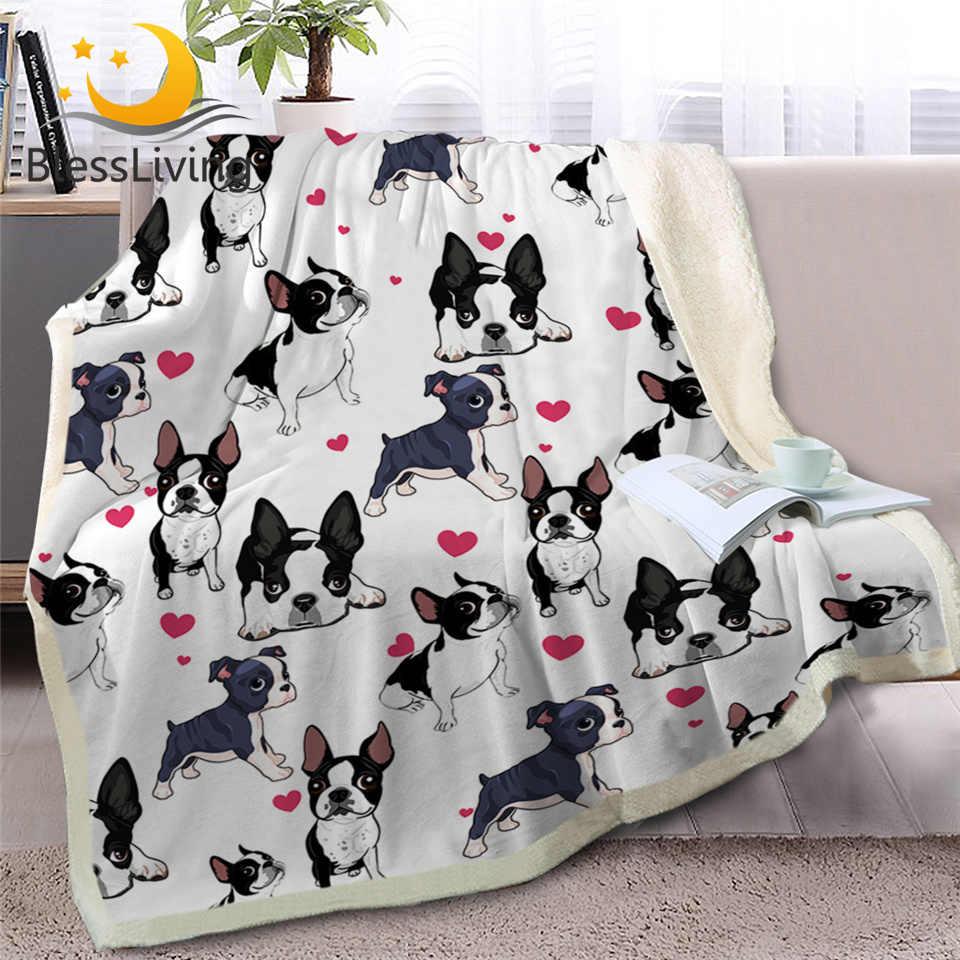 My Heart Is Taken By A French Bulldog Dog Lover Gift Sherpa Fleece Blanket