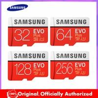 Neue produkt Original SAMSUNG EVO + Speicher Karten 64GB EVO plus U3 128GB 256GB Class10 Micro SD karte 32GB 16G microSD UHS-I TF Karte
