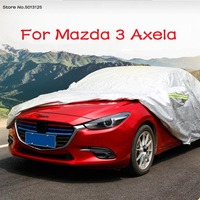 Car Window Glass Shade Sunscreen Heat Insulation Windshield Curtain Car Clothing Outer Protection for Mazda 3 Axela 2019 2020