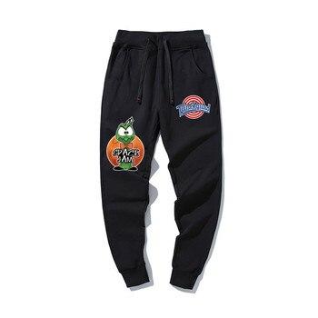 2020 Fashion Space Jam Sweatpants New Lover Casual Cotton Trousers Ladies Harem Joggers Pants Sports - discount item  30% OFF Pants