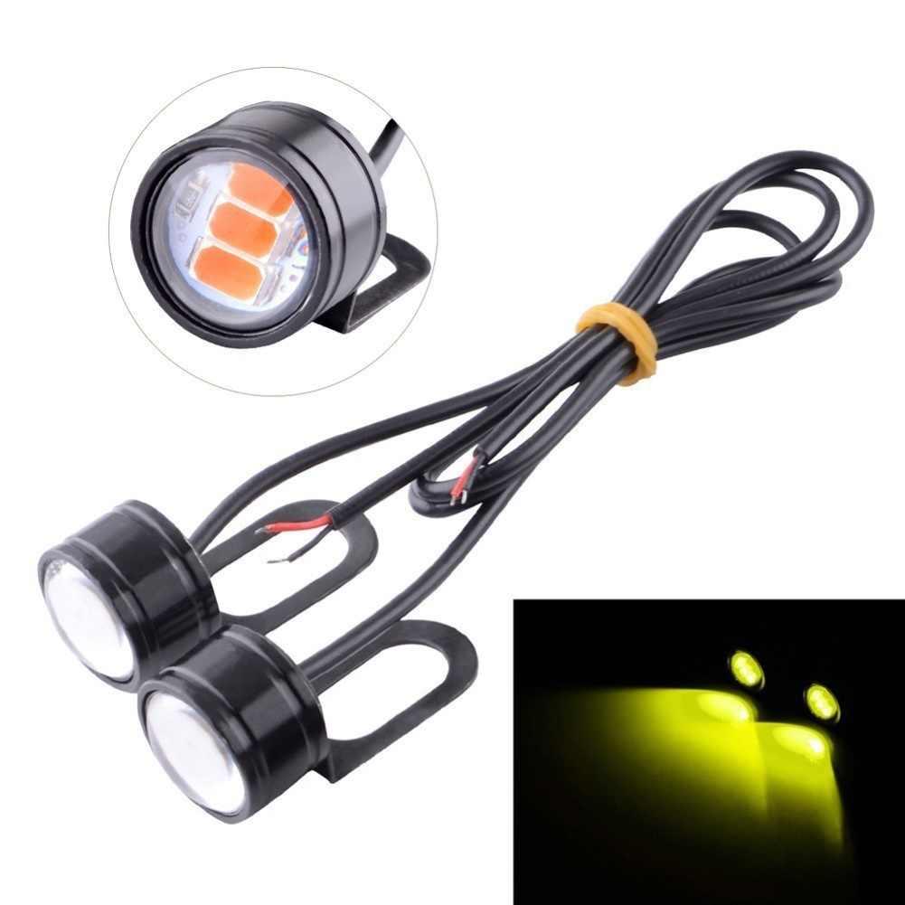 2Pcs 5630 SMD LED Motorcycle Handlebar Spotlight Headlight Driving Light Lamp