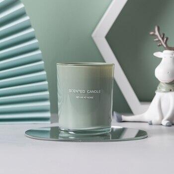 Glass Jars Romantic Soy Handmade Nordic Candles  2