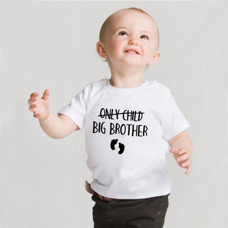 Только в том случае, для малышей, мальчиков и девочек, брат, чтобы быть беременность объявление футболка детская футболка с короткими рукава...