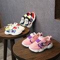 Кроссовки для мальчиков; детская обувь; детская повседневная обувь для маленьких девочек; детская спортивная обувь с медвежонком; модная мя...
