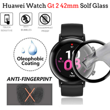 Мягкие стеклянные часы gt 2 для часов hauwei gt2 42 мм прозрачная защитная пленка на весь экран huawei watch gt Аксессуары 42 мм Волоконная пленка