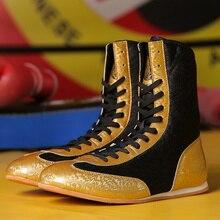 Fighting-Shoes Squat-Boots Boxing Wresting Training Professional Sanda Anti-Slip