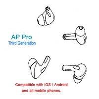 Ap pro tws air pro 1:1 беспроводные bluetooth наушники беспроводные наушники airdots ear игровая гарнитура оптовая продажа air 3 pk i200 i500 i600