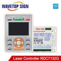 Ruida RDC7132G sürücü kontrol sistemi için entegre Co2 lazer kesim ve oyma makinesi