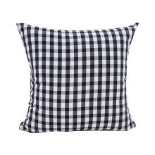 купить trendy plaid striped pattern home square sofa cushion covers 45*45cm without inner cotton polyester comfortable pillow cover X73 по цене 242.29 рублей