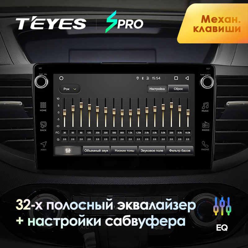 TEYES SPRO para Honda CRV CR-V 4 RM RE 2011 de 2015 auto Radio Multimedia reproductor de Video GPS de navegación Android 8,1 No 2din dvd