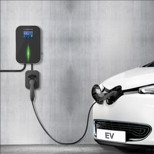 Image 5 - 16A 3相ev充電器電気自動車充電ステーションevse wallboxタイプ2ソケットiec 62196 2アウディメルセデス · ベンツ、現代