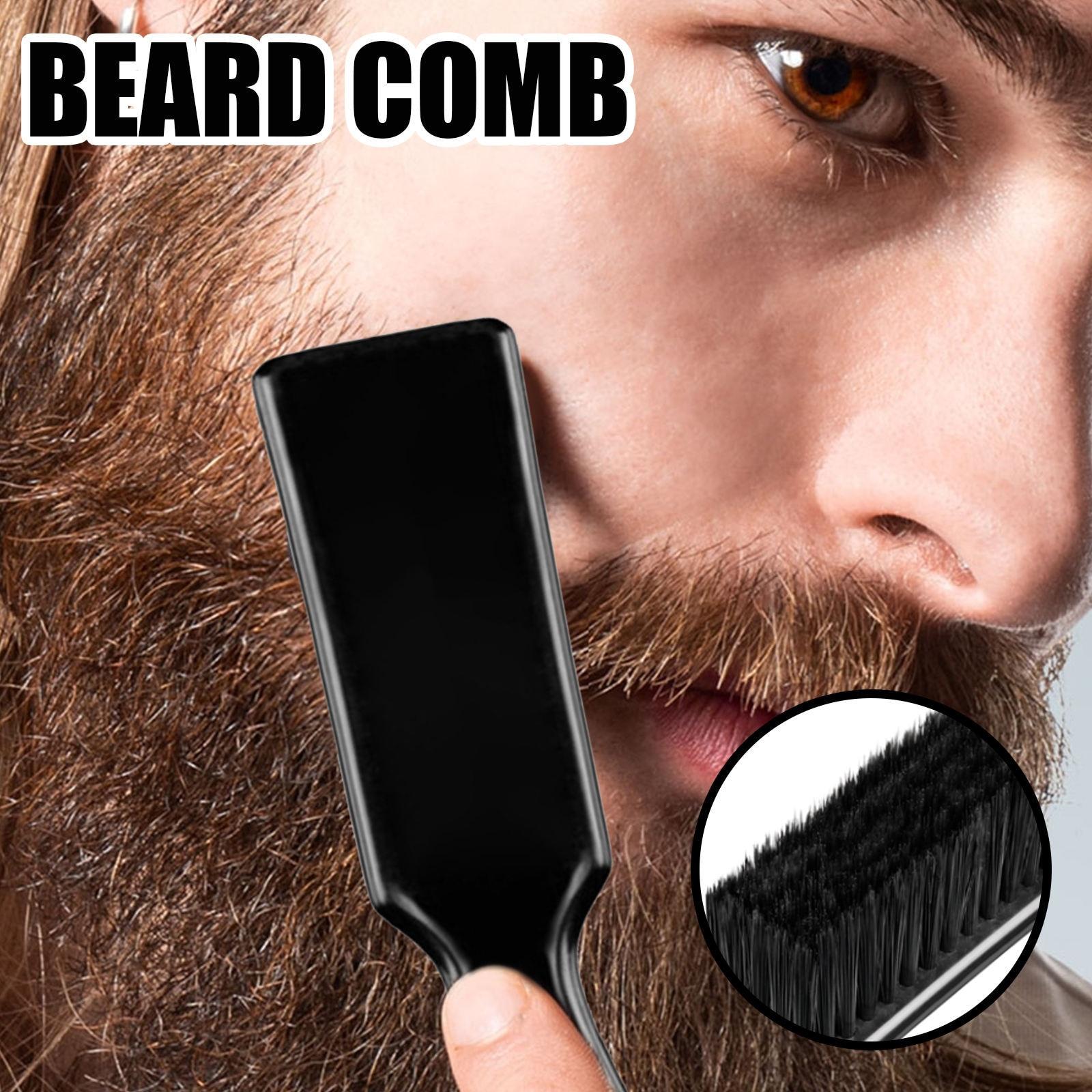 Men Facial Beard Cleaning Face Massager Appliance Mustache Trimming Salon Tool