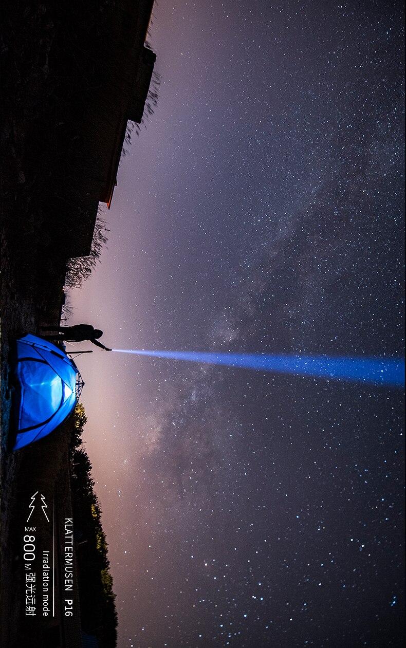 Recarregável portátil lanterna de acampamento tochas segurança