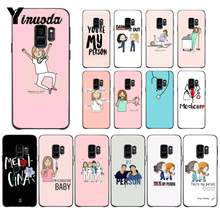 Funda de teléfono de silicona suave Yinuoda person you are my doctor nurse medicina para Samsung Galaxy S9 Plus S3 S6 7 8 9 s10 E S9(China)