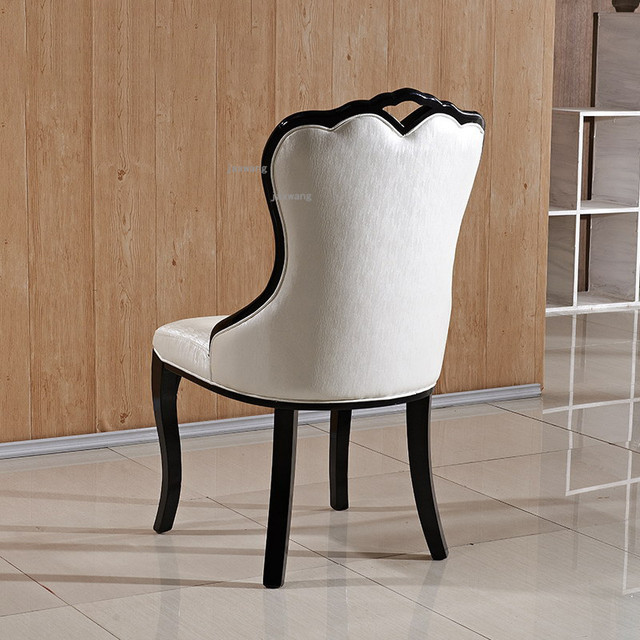 European Style Solid Wood Dining Chair 2