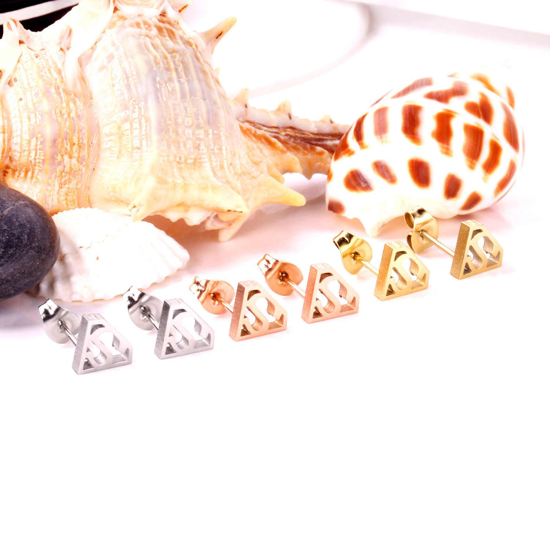 LUXUKISSKIDS, 3 пар/лот, детские маленькие сережки-гвоздики из нержавеющей стали для женщин, модные роскошные ювелирные изделия, pendientes brincos