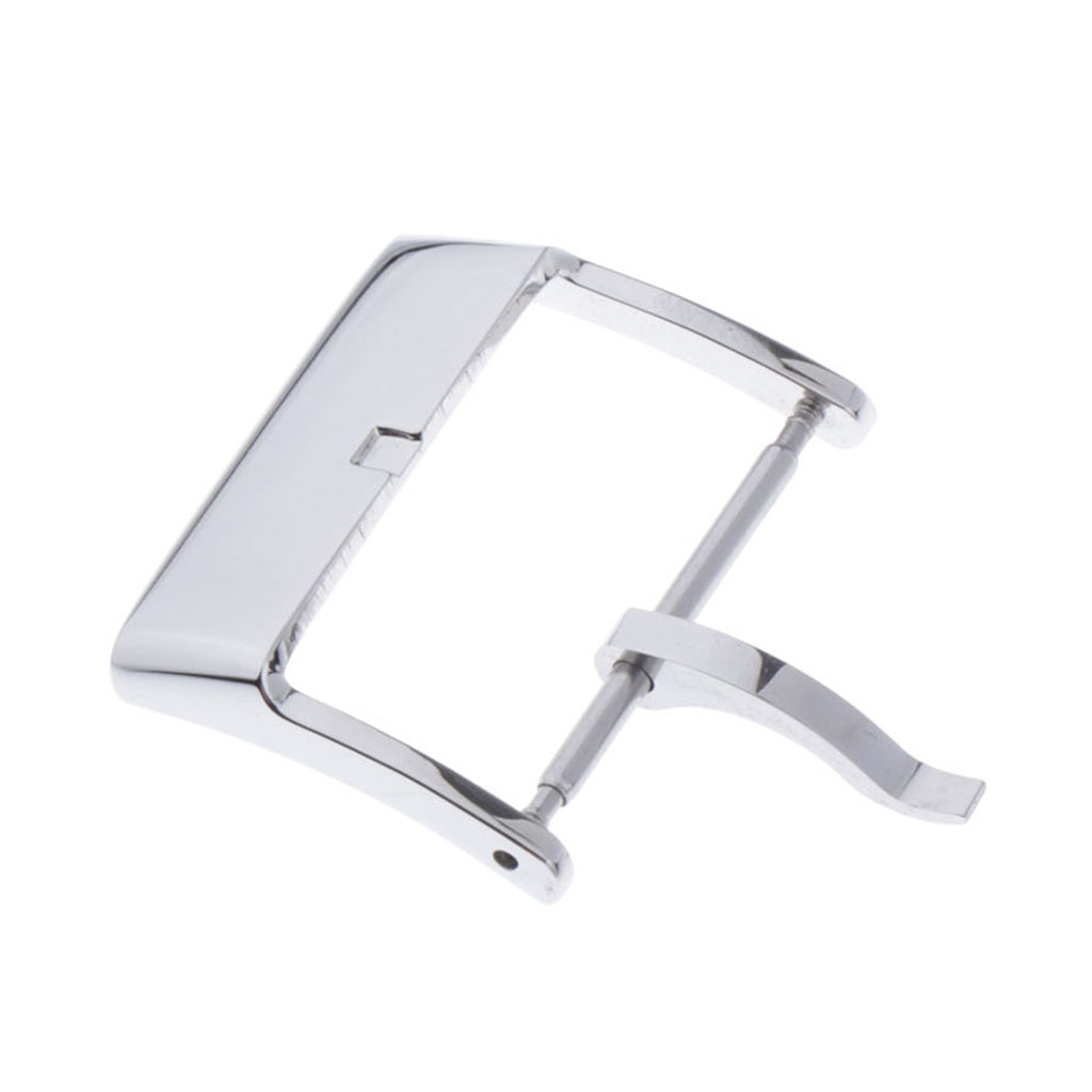 Durable Polished Metal Watch Buckle Replacement Watch Strap Buckle For Watch Band Repair, 20mm