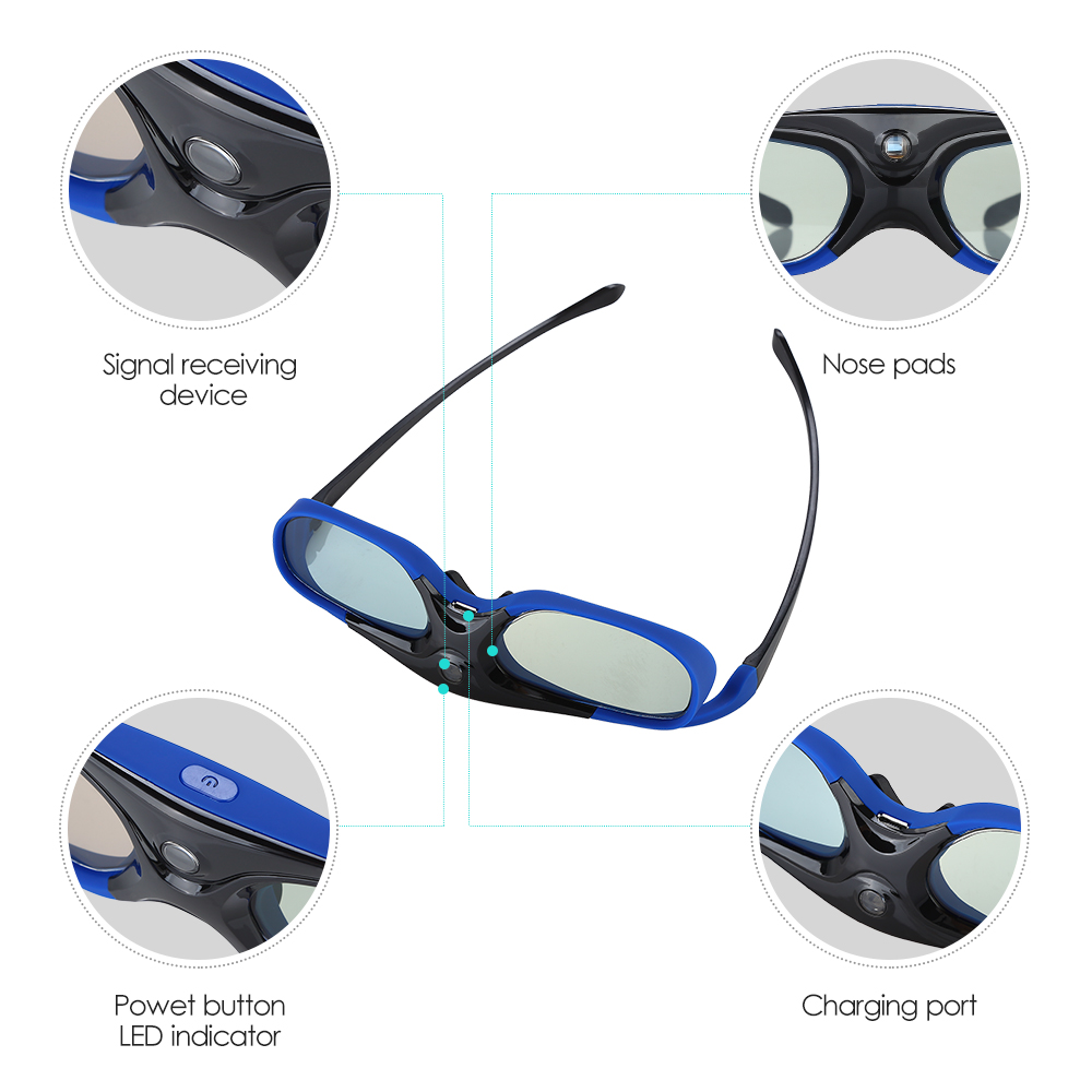 hd ativo dlp link óculos para optama
