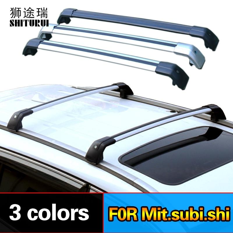 Балки на крышу для MITSUBISHI Outlander III (GG_W, GF_W, ZJ) [2012-2019] боковые балки из алюминиевого сплава поперечные рейки багажник на крышу
