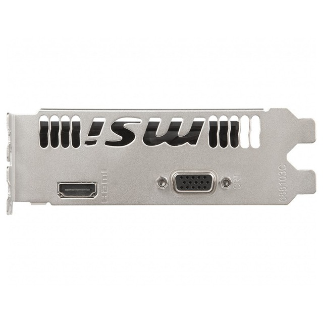 MSI GT1030 AERO ITX Desktop Computer HD Video Card DDR4 64bit VGA and HDMI Graphics Card GT1030 AERO ITX 2GD4 OCV1 5