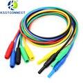 Тестовая линия от штекера типа «банан» TL454 1 м  Соединительный шнур  Тестовые провода  CATIII 1KV/32A