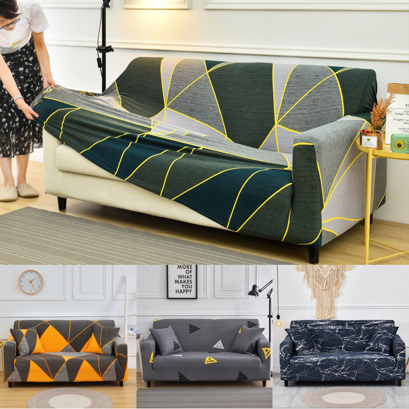 Stretch New Style Sofa Covers For Living Room Elastic Stretch Slipcover Sectional Corner Sofa Covers 1/2/3/4-seater