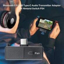 Kebidu Bluetooth 5.0 Audio Type-C Zender Adapter Edr A2DP Sbc Lage Latency Voor Nintendo Switch PS4 Tv Pc usb