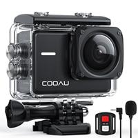 COOAU SPC02 Action Camera Ultra HD 4K / 60fps WiFi 2.0 20MP Underwater Waterproof Helmet Video Recording Cameras Sport Cam