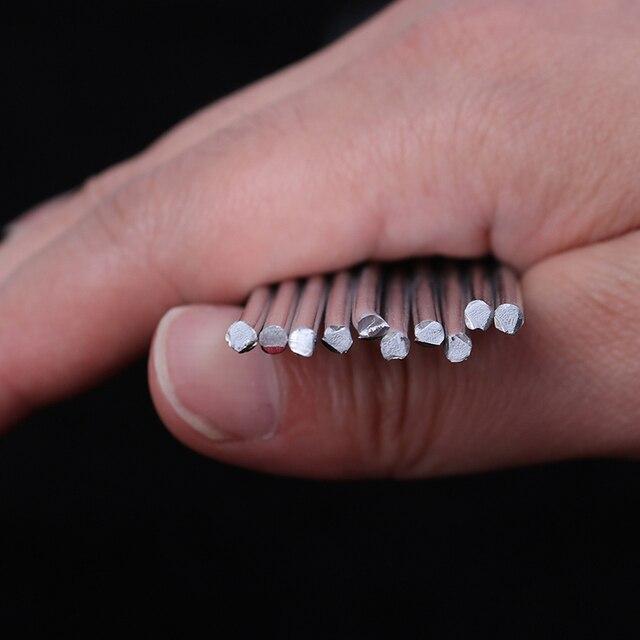 10 pièces/lot 50cm Aluminium basse température soudure soudure brasage tige 1.6mm 2.0mm 3.2mm