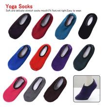 1Pair Women Socks Winter Floor Velvet Indoor Short Anti-skid Boat Solid Color Warm Sock Slippers