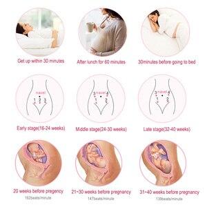 Image 3 - Cofoe Fetal Doppler kalp atışı dedektörü ev taşınabilir hamile Fetal nabız ölçer radyasyon bebek bakımı stetoskop