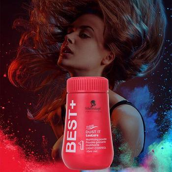Leniwy proszek do pielęgnacji włosów tłuste jednorazowe włosy szybkoschnący proszek do włosów proszek do czyszczenia na sucho TSLM1 tanie i dobre opinie ELECOOL Fluffy Thin Hair Powder Mineral 5 3 2 1Pcs