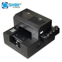 Impressora uv de shbk digitas a4 para impressão do caso  impressora uv semi-automática a4 do leito para a impressão 3d da caixa do telefone da capa do telefone