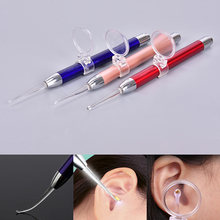 Removal-Tool Flashlight Earpick Light-Spoon Magnifier Ear-Curette Ear-Wax Earwax-Remover