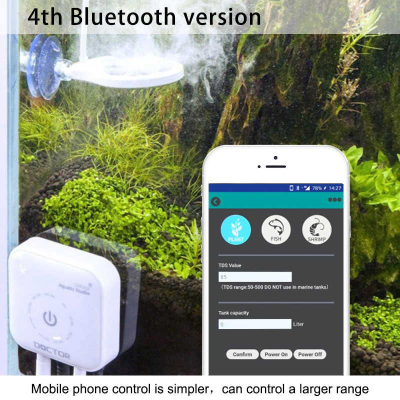 3 4 th Bluetooth Chihiros Doctor Twinstar akwarium algi Remover woda ryby czyszczenie zbiornika akcesoria narzędziowe dla roślin krewetki