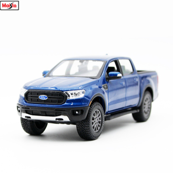 Maisto 1:27 2019 Ford Raptor Pickup Alloy Car Model simulation alloy car model collection gift toy 1 18 diecast model for ford tourneo brown mpv alloy toy car miniature collection gift