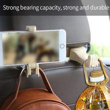 Universal Auto Sitz Zurück Haken Kopfstütze Hanger Handy Halter Halterung Kann Den Einsatz Auf Den Meisten Autos Lkw Suv Und mehr # py10