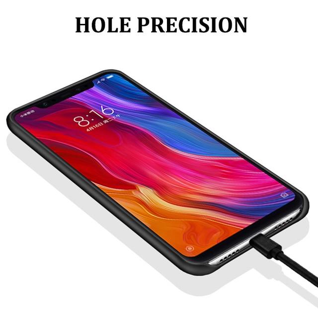 Oficjalny futerał silikonowy do Xiaomi Redmi Note 8 7 6 5 K20 Pro 8A 8T 4X 5 Plus S2 Mi 9 8 SE 9T Pro 8 Lite A2 Mix 2s 3 okładka
