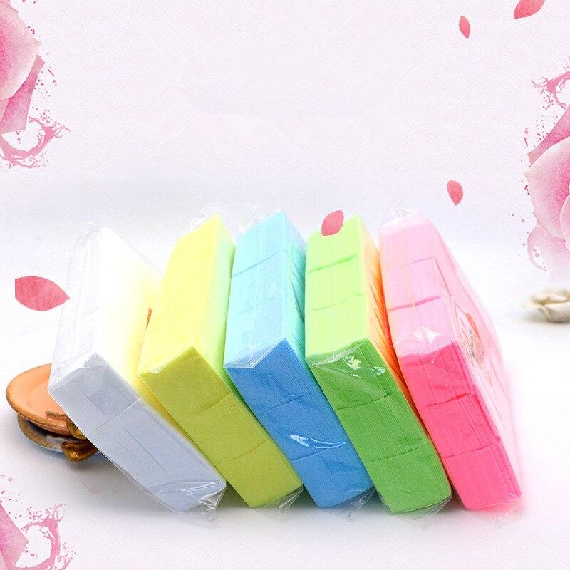 700 Pcs Lint-Free Wipes Napkins Nail Polish Remover Gel Nail Wipes Nail Cutton Pads Manicure Pedicure Gel Tools
