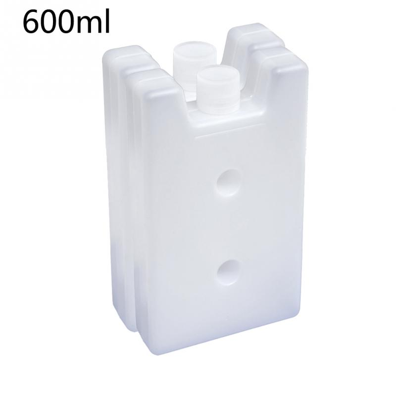2PCS Travel Practical Reusable Cooler Box Camping Food Storage Lunch Bag Fruit Picnic Ice Blocks Freezer Stay Fresh Portable