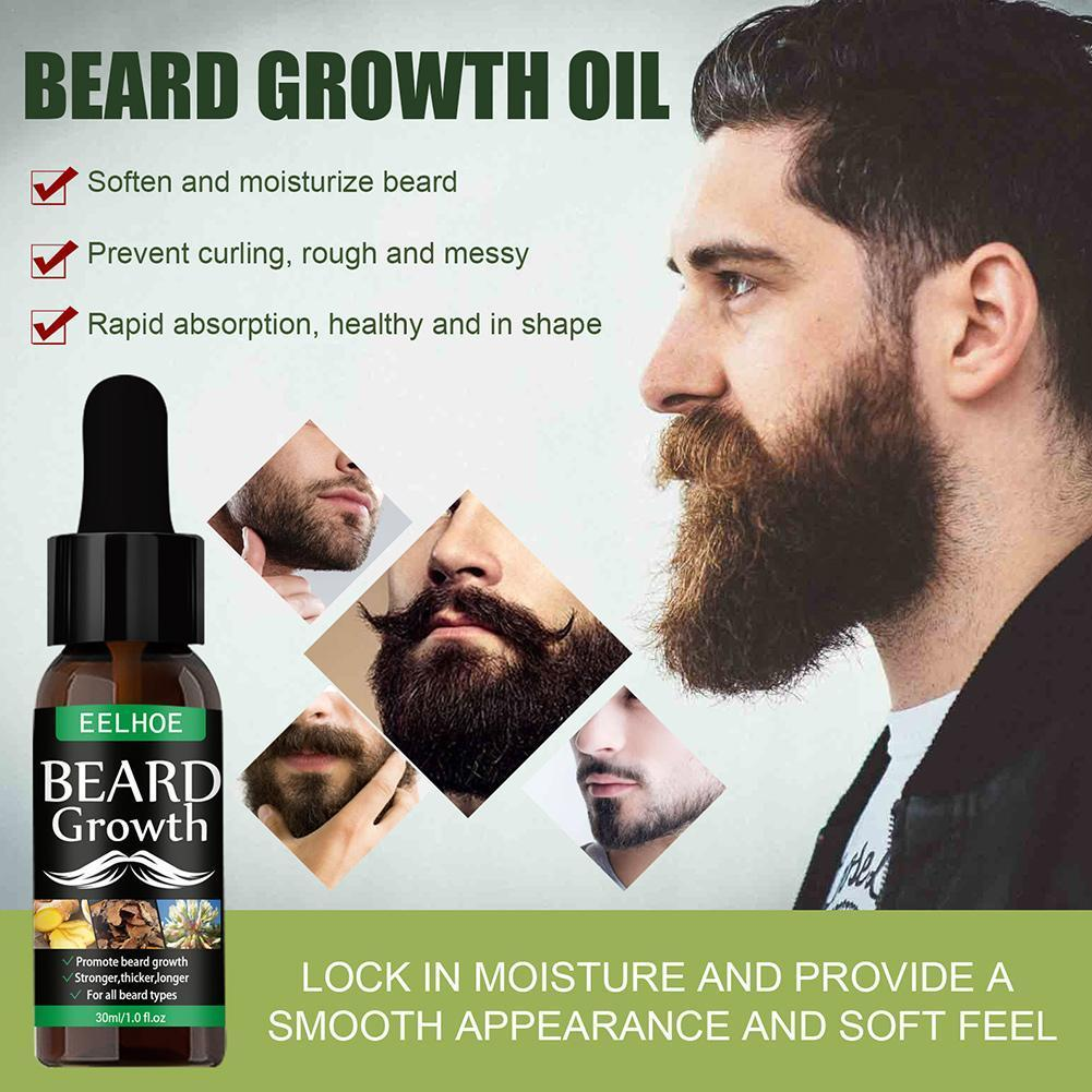 40ml Beard Growth Oil Natural Accelerate Hair And Beard Essential Grow Enhancer Oil Hair Beard Nourishing X1Y1