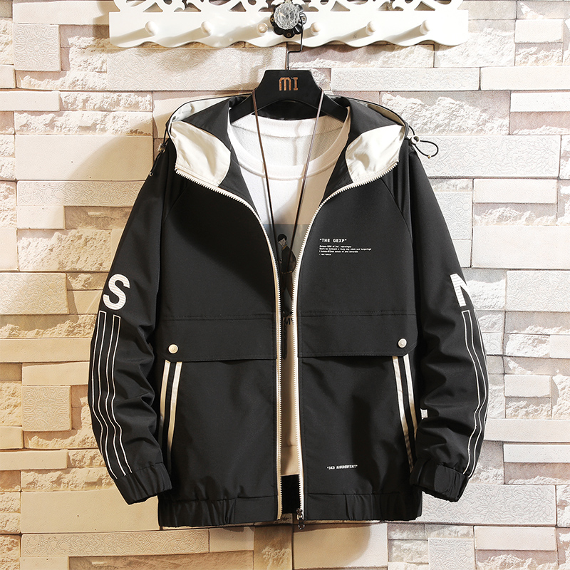 New 2020 Spring Autumn Jackets Men Classic Solid Casual Fashion Jacket Plus Asian Size M-4XL