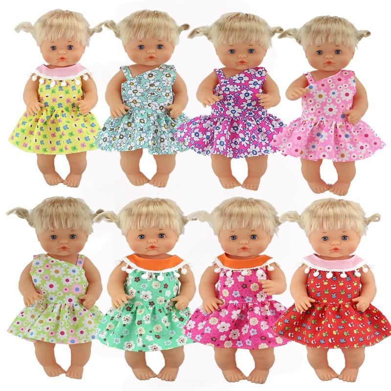 Dot Short Dress Clothes Fit 42 Cm Nenuco Doll Nenuco Y Su Hermanita Doll Accessories