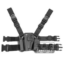 Pistol Beretta 92 Flashlight-Pouch Serpa Drop-Leg Holster-W/magazine Quick-Draw Thigh