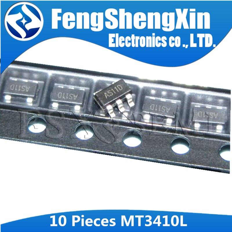 10 шт., синхронный понижающий преобразователь MT3410L, MT3410, AS11D, SOT, SMD